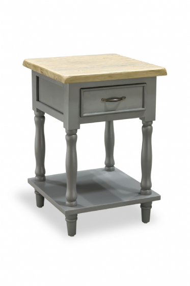 Polruan Grey Side Table - Large